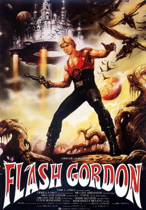 Cartel de Flash Gordon