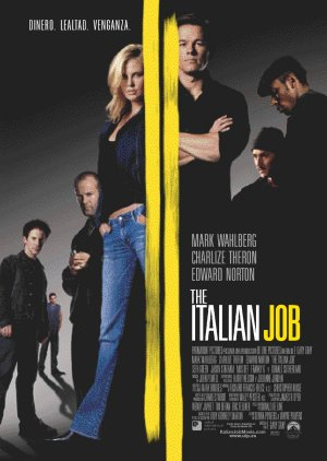 Cartel de The italian job