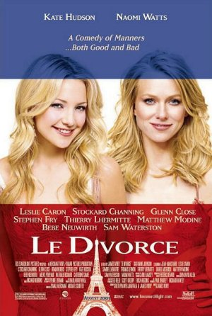 Cartel de Le divorce