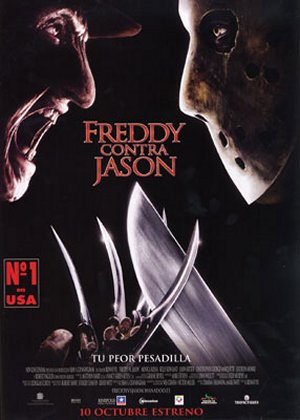 Cartel de Freddy contra Jason