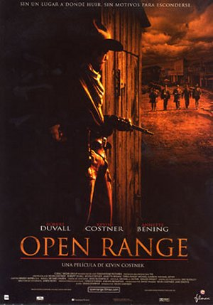 Cartel de Open Range