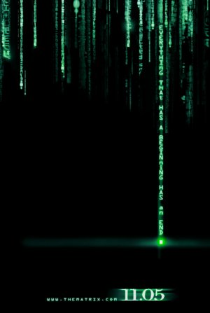Cartel de Matrix Revolutions