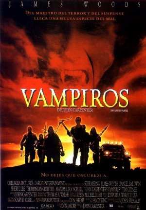 Cartel de Vampiros de John Carpenter