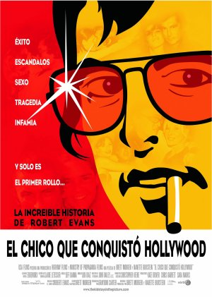 Cartel de El chico que conquistó Hollywood