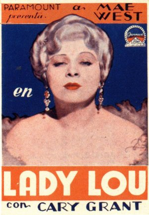 Cartel de Lady Lou