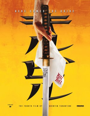 Cartel de Kill Bill - Vol. 1