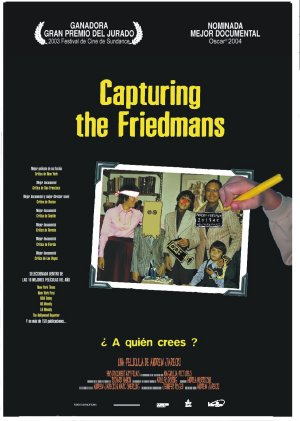 Cartel de Capturing the Friedmans