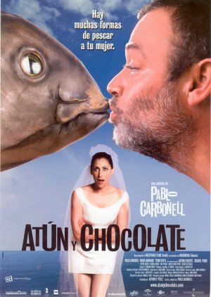 Cartel de Atún y chocolate