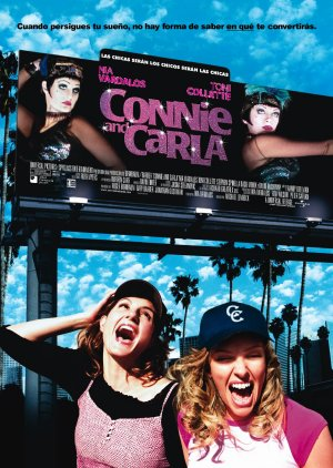Cartel de Connie and Carla