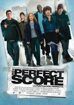 Cartel de The perfect score