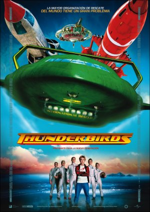 Cartel de Thunderbirds
