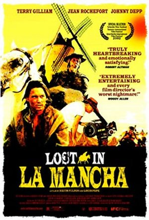 Cartel de Lost in La Mancha