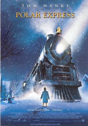 Cartel de Polar Express