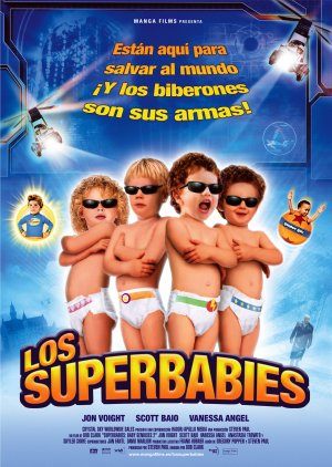Cartel de Los superbabies