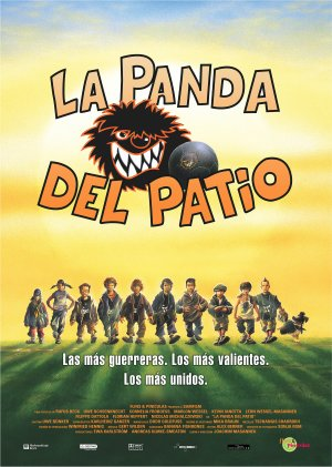 Cartel de La panda del patio