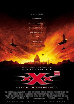 Cartel de XXX2: Estado de emergencia