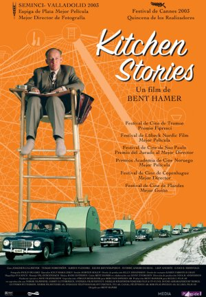 Cartel de Kitchen stories