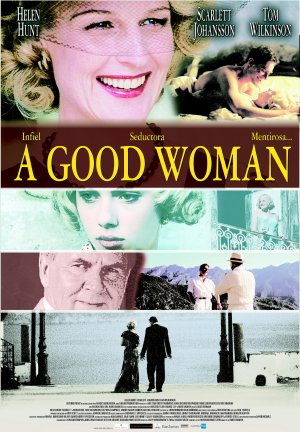 Cartel de A good woman