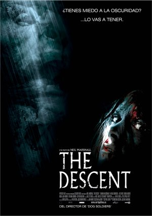 Cartel de The descent