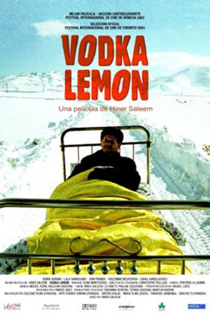 Cartel de Vodka Lemon