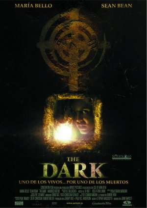 Cartel de The dark