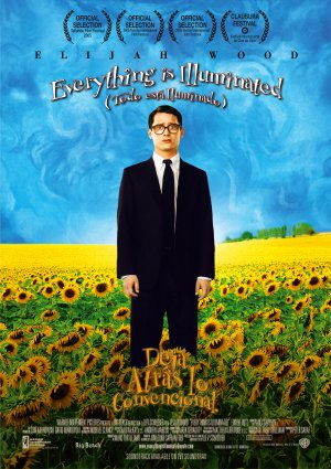 Cartel de Everything is illuminated (Todo está iluminado)