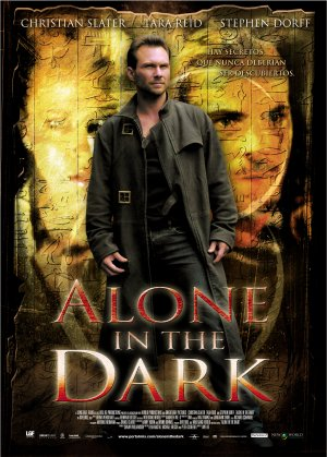 Cartel de Alone in the dark
