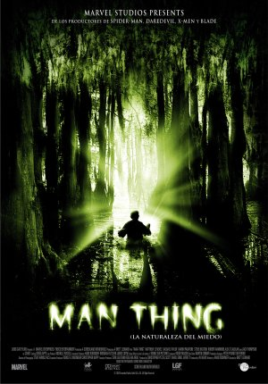 Cartel de Man Thing (La naturaleza del miedo)