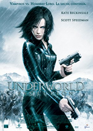 Cartel de Underworld: Evolution