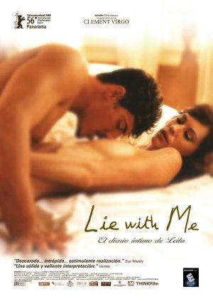 Cartel de Lie with me (El diario íntimo de Leila)