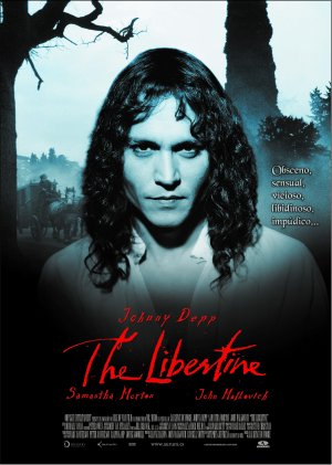Cartel de The libertine
