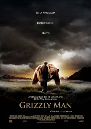 Cartel de Grizzly Man