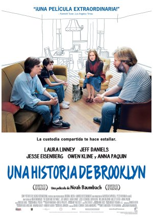 Cartel de Una historia de Brooklyn