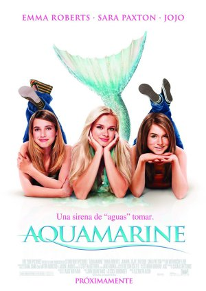Cartel de Aquamarine