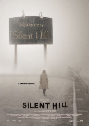 Cartel de Silent hill