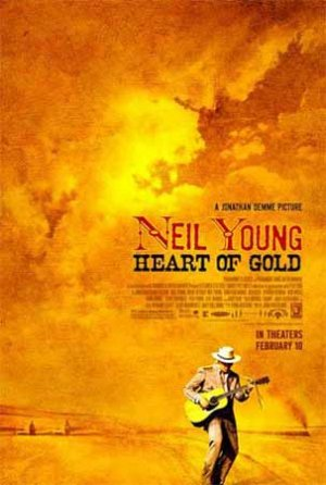 Cartel de Neil Young: heart of gold