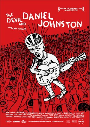 Cartel de The devil and Daniel Johnston