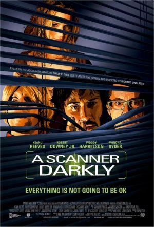 Cartel de A scanner darkly