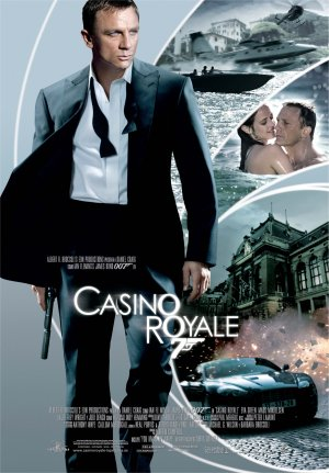 Cartel de 007 Casino Royale