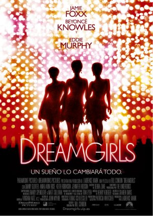 Cartel de Dreamgirls