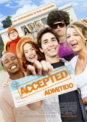 Cartel de Accepted (Admitido)