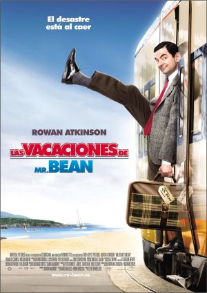 Cartel de Las vacaciones de Mr. Bean
