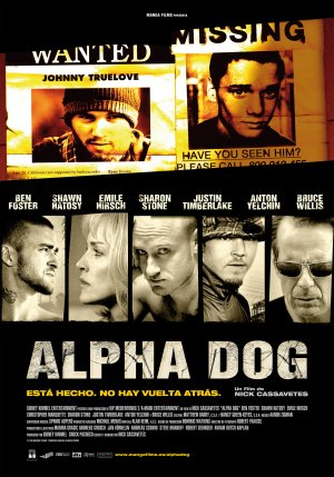 Cartel de Alpha dog