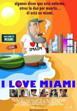 Cartel de I love Miami