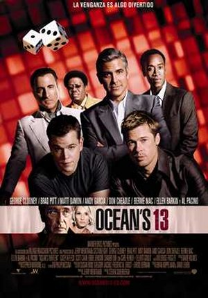 Cartel de Ocean's Thirteen