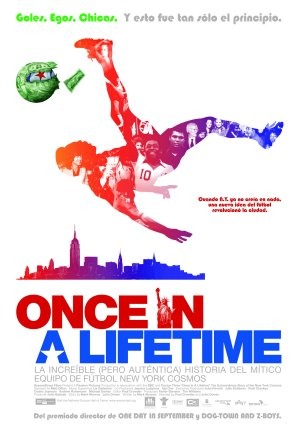 Cartel de Once in a lifetime