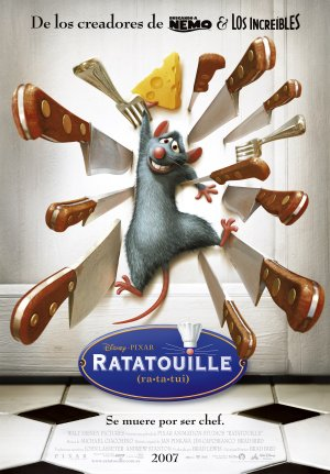 Cartel de Ratatouille