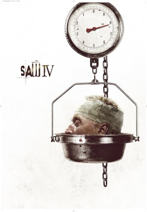Cartel de Saw IV