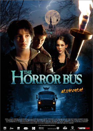 Cartel de The horror bus
