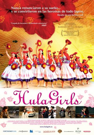 Cartel de Hula Girls